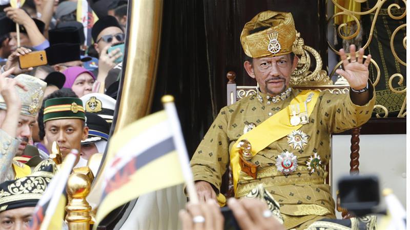 Svar frá Sverri Agnarssyni við áskorun um að fordæma Brunei