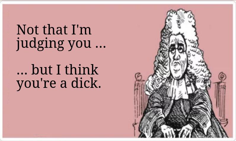 Dick shaming & victim blaming