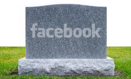 Jarðarför á facebook