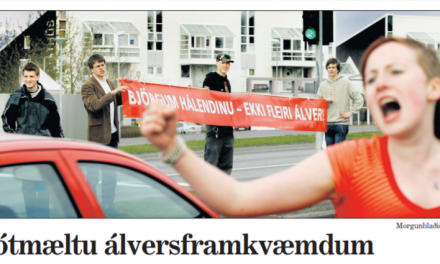 Saving Iceland partý – maí 2006