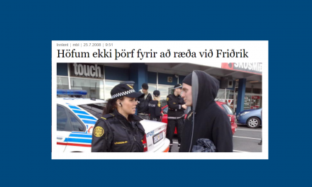 Saving Iceland hunsa boð um fund
