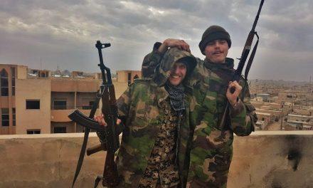 Þeir börðust við ISIS með Hauki