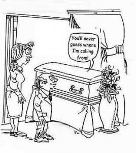 cellphonecoffin