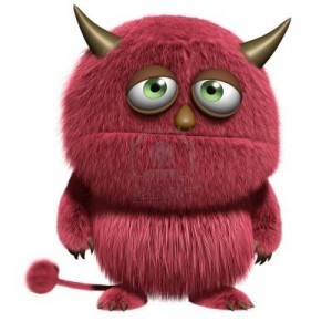 15810555-cartoon-red-hairy-monster-300x300